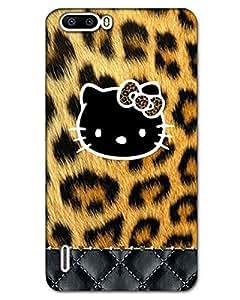 Zoyo Huawei Honor 6 Plus Back Cover Designer Hard Case Printed Cover