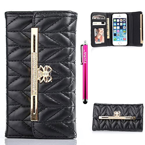 iphone-6s-case-firefish-card-slots-luxury-pu-leather-wallet-case-bumper-kickstand-magnetic-closure-f