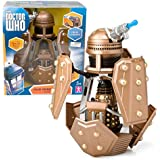 """Doctor Who Action Figures - Dalek Security Patrol Ship - Measures 8"""" Tall, Includes Dalek Figure"""