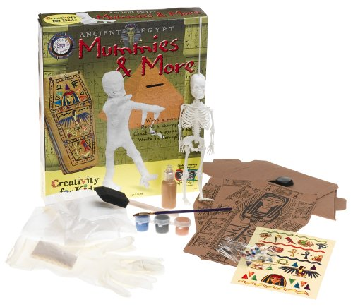 Ancient Egypt Mummies & More By Creativity For Kids (1153) front-232438