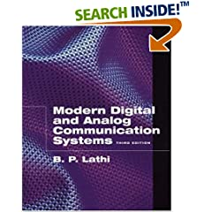 Modern Digital and Analog Communication Systems 3rd ed. B. P. Lathi ebook & solutions
