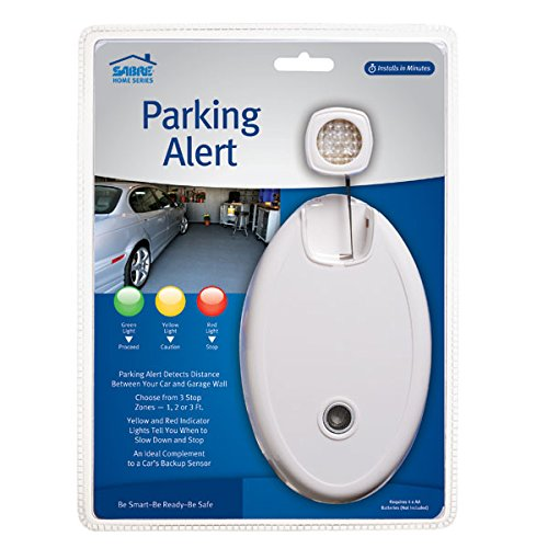 Parking Garage Sensor Lights: SABRE Car Parking Assist Sensor Detects Distance Between