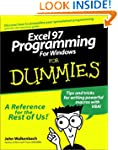 Excel 97 Programming for Windows For...