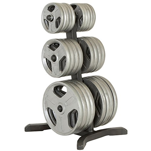IRONMAN Triathlon X-Class Olympic Weight Tree/Bar Holder/Chrome Storage Post, 1000 lb (Weight Rack Plates compare prices)