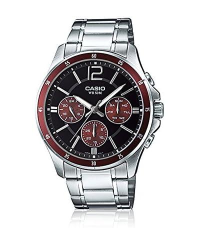 Casio Reloj con movimiento cuarzo japonés MTP-1374D-5AVDF(A951) 47 mm
