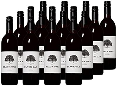 Black Oak Big Time Merlot Red Wine Case Pack, 12 x 750ml by Black Oak Winery