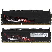 G.SKILL Sniper Series 16GB 2 X 8GB 240-Pin DDR3 SDRAM DDR3 2400 PC3 19200 Desktop Memory Model F3-2400C11D-16GSR