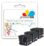 Premier Ink 12X Brother Lc39 Lc985 Brother Mfc-J410 Also Compatible With Brother Dcp-J515W - 3 Sets Of 4 Brother Compatible Ink Cartridges For Brother Brother Dcp-J315W - Dcp-J125 - Brother Dcp-J515W - Brother Mfc-J265W - Brother Mfc-J410 - Brother Mfc-J