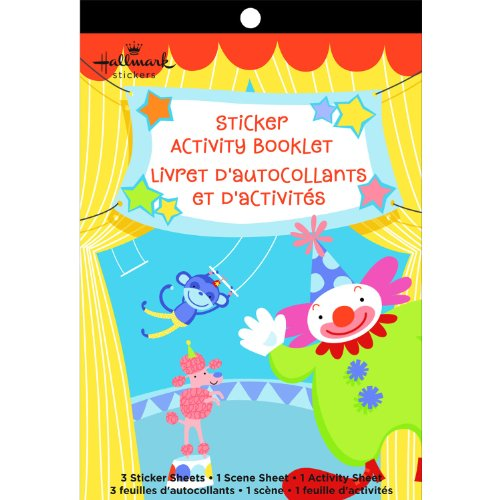 Sticker Activity Booklets Designed