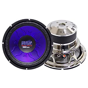 Pyle PL1090BL 10-Inch 1,000-Watt DVC Subwoofer from Pyle