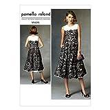 Vogue Patterns 1425 A5 Sizes 6/ 8/ 10/ 12/ 14 Misses Dress, Multi-Colour