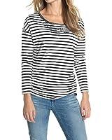 Esprit 104EE1K036 - T-shirt - Manches 3/4 - Femme