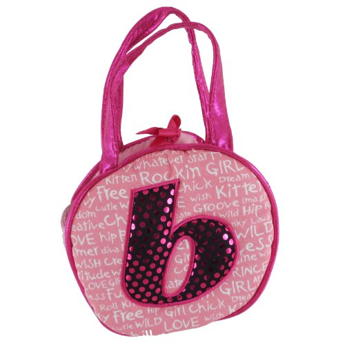 Aurora World Plush - Initials Pet Carrier - LETTER B