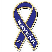 NFL Baltimore Ravens Ribbon Magnet