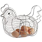 Kitchen Craft Chrome Plated Wire Large Chicken Basket 30cm x 25cmby Kitchen Craft
