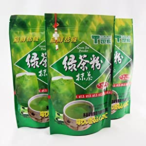 Tradition Green Tea Powder Matcha Instant Tea / 250g / 8.8oz. (3 Packs) Bonus Pack by Matcha