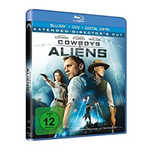 BD * Cowboys & Aliens [Blu-ray] [Import allemand]