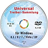 Universal Treiber-Sammlung 32 & 64 Bit für Windows 8.1/8/7/Vista/XP