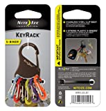 Nite Ize KRK-03-01 KeyRack Key Holder with S-Biners