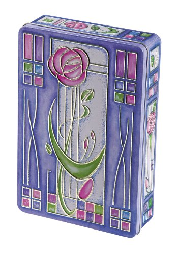 Churchill's Rose Nouveau Tin with Belgian Chocolate Biscuits 300 g