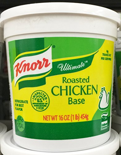 16oz Knorr Ultimate Roasted Chicken Base, Pack of 1 (Knorr Chicken Base compare prices)