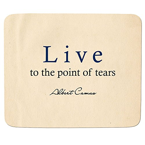 live-to-the-albert-camus-premium-quality-mouse-mat-mouse-pad-5mm-thick