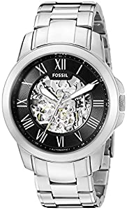 Fossil Men's ME3103 Analog Display Automatic Self Wind Silver Watch