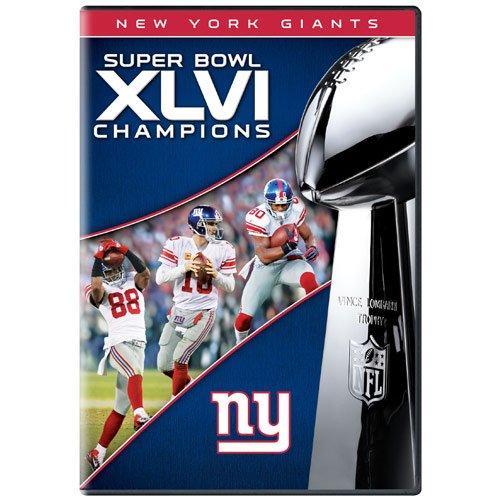 NFL New York Giants Super Bowl XLVI Champions DVD