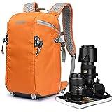 BESTEK CADEN Camera Backpack SLR DSLR Digital Camera Bag Waterproof Orange