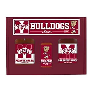 MISSISSIPPI STATE Bulldogs TailGate Hot Sauce BBQ Salsa