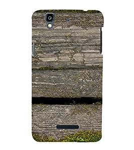 Fuson Premium Back Case Cover Rock pattern With grey Background Degined For YU Yureka::Micromax Yureka AO5510