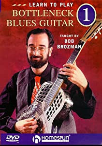 learn to play bottleneck blues guitar 1 dvd bob brozman happy traum movies tv. Black Bedroom Furniture Sets. Home Design Ideas