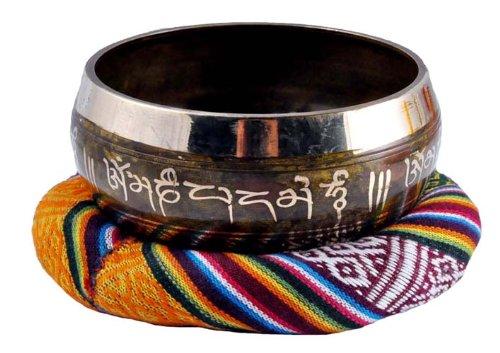 Tibetan Singing Bowl Ring, Singing Bowl Cushion, Singing Bowl Pillow