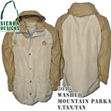 Washed Mountain Parka 3016: Vintage Tan / Tan