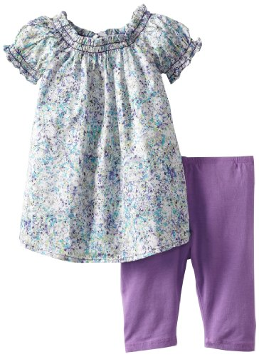 Review Splendid Littles Baby-girls  Splatter Paint Tunic Set, Berry, 12-18 Months  Review