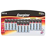 Energizer  AA Battery, Alkaline, 16 ct