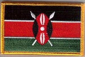 Parche Bordado Bandera Kenia - 9 x 6 cm   Más información y comentarios de clientes