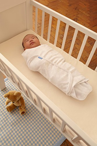 The Gro Company Twin Pack White Swaddle, 0-3 Months