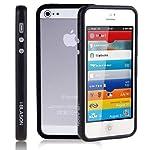 i-Blason Premium Apple iPhone 5C Bumper Case AT&T Sprint Verizon T-Mobile All Carriers (Black)