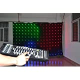 P18 2x4M LED Vision Curtain for DJ backdrop