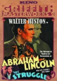 Cover art for  Walter Huston Double Feature (Abraham Lincoln / The Struggle)