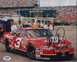 DALE EARNHARDT SIGNED AUTO 8x10 PHOTO NASCAR - PSA DNA Certified - Autographed NASCAR... by Sports Memorabilia