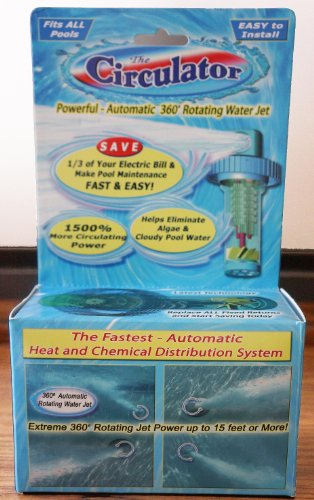 Circulator 10022a Automatic 360 Rotating Swimming Pool