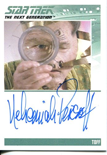 Star Trek TNG The Complete Series 1 Autograph Card Nehemiah Persoff