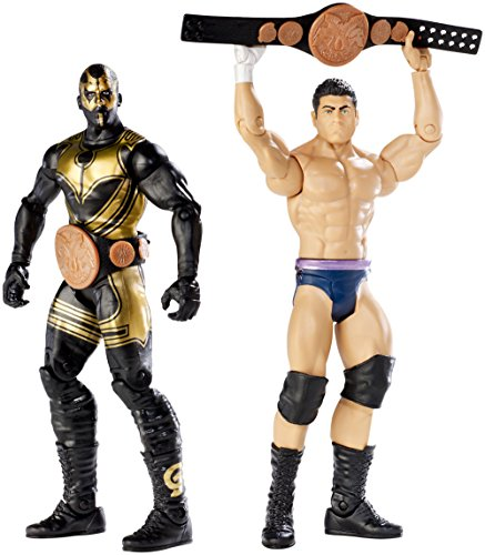 WWE Battle Pack: Goldust & Cody Rhodes with 2 Tag Belts Figure (2-Pack) (Belts For Figures compare prices)