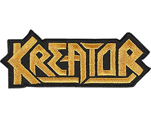 Kreator Logo Cut Out Toppa / Patch