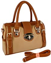 MG%20Collection%20BRADLEY%20Dual%20Tone%20Brown%20Doctor%20Style%20Double%20Handle%20Purse%20w/Shoulder%20Strap