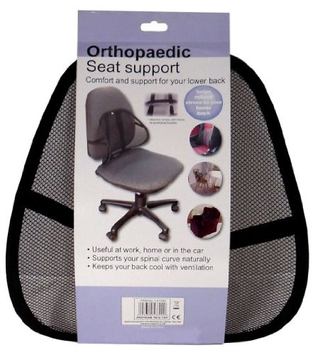 Orthopedic Seat Support / Full Lumbar support /Portable