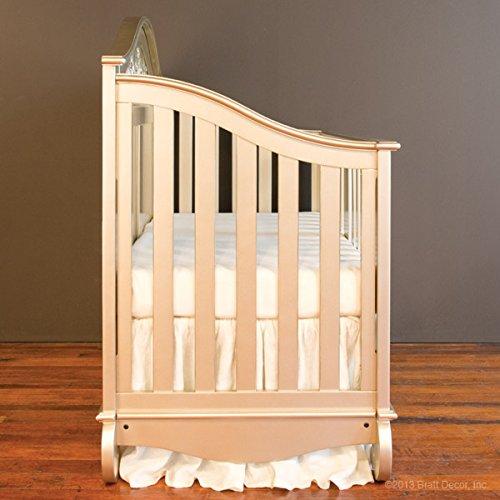 Bratt Decor chelsea lifetime crib antique silver 2