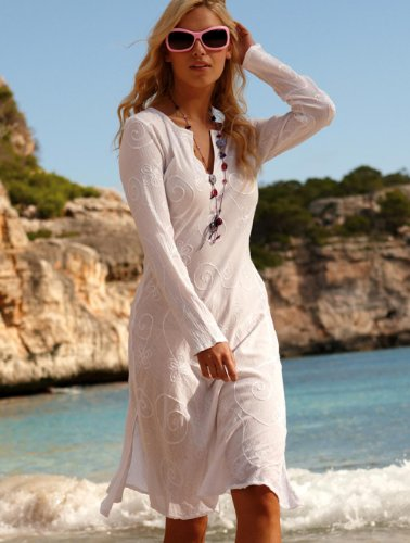 Cotton Kaftan Dress